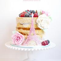 Paris open cake
