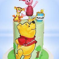 disney pooh cake