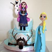 Frozen theme cakes 2