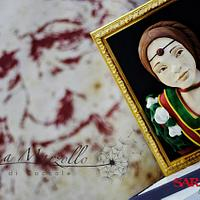 Belle Ferronnière in sugar paste