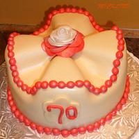 A BIRTHDAY CAKE by Linda