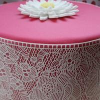 Sugarveil celebration cake by TattooedCake