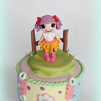 lalaloopsy Cake by Pamela Iacobellis