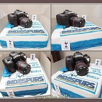 Camera Canon Cake