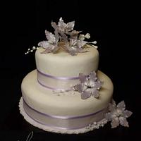 Lilac fantasy flowers