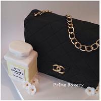 CHANEL BAG CAKE ❤️👜