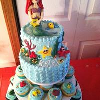 Mermaid Cake by Kristin Dimacchia