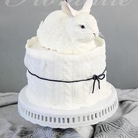 Snow Hare Cake