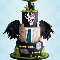 Mash-up Theme Cake