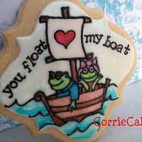 Valentine Cookies by Corrie