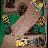 constructionsite cake