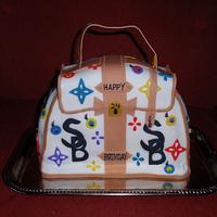 Louis Vutton Cake Purse