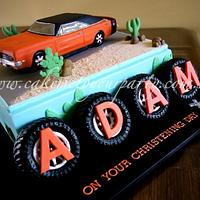 1969 Valiant/Dodge Charger Car Cake.