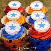 Converse Custom Logo Cupcakes