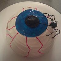 Creepy Eyeball cake