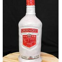 Vodka bottle cake