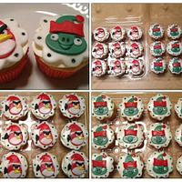 Angry birds seasons cupcakes