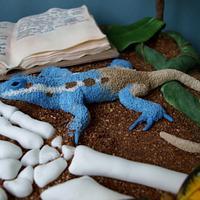 Exotic Adventures Cake