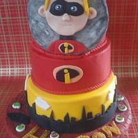 HUDSON'S INCREDIBLES BIRTHDAY CAKE