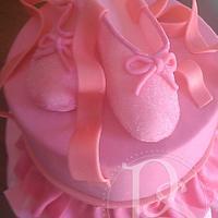 Pink Ballerina Recital Cake