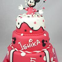 Happy Minnie Mouse