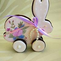 Easter Bunny ( chocolate cookies)
