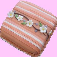 cake withflowers