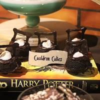 PDCA Dessert Table Collaboration- Harry Potter  by Luscious Bakes by Rashmi