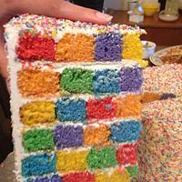 Checkerboard vs Rainbow