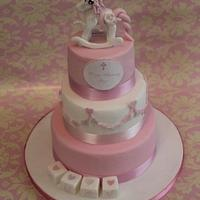 My little Pony Christening Cake