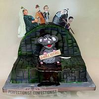 Zac - Horrible Histories Birthday Cake