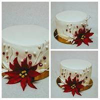 A small christmas cake