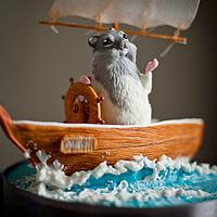 Hamster on a boat