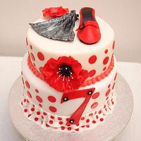 Flamenco Cake by Laura Jabri