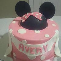 Girl's Birthday Cake