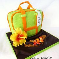 "The Bag cake ""Ruby"""
