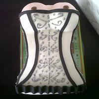 corset cake 18+ by Take a Bite
