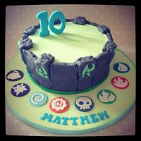 Skylander Giants Portal of Power Cake