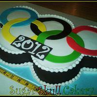 Olympic Rings Cake