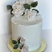 Elderflower-Lemon Cake