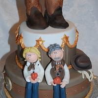 LineDance Weddingcake