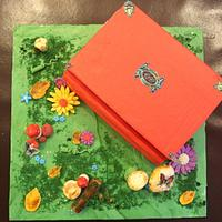 My Secret Library...The Book Cake