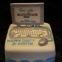 3d Computer Cake