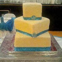 WEDDING CAKE by Linda