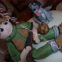 Hunting cake by LellaSweetCakes