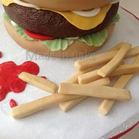 Burger & Fries by June