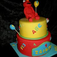 Elmo by Sugarart Cakes