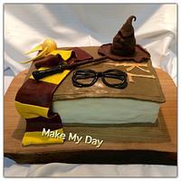 Harry Potter inspired cake