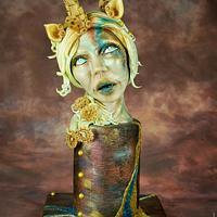 Steampunk Unicorn woman