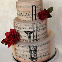 Music and trombone